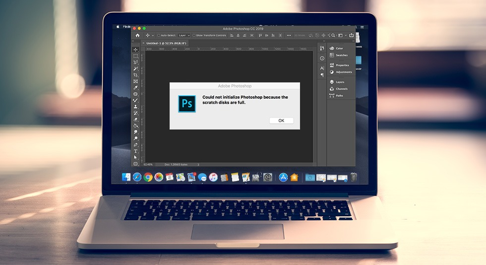 "How To Fix ""Photoshop Scratch Disk Full Mac"" On Mac?"