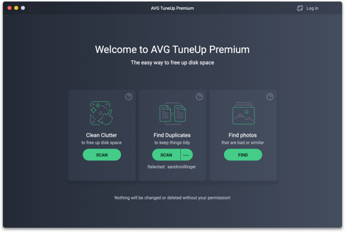 avg tune up for mac