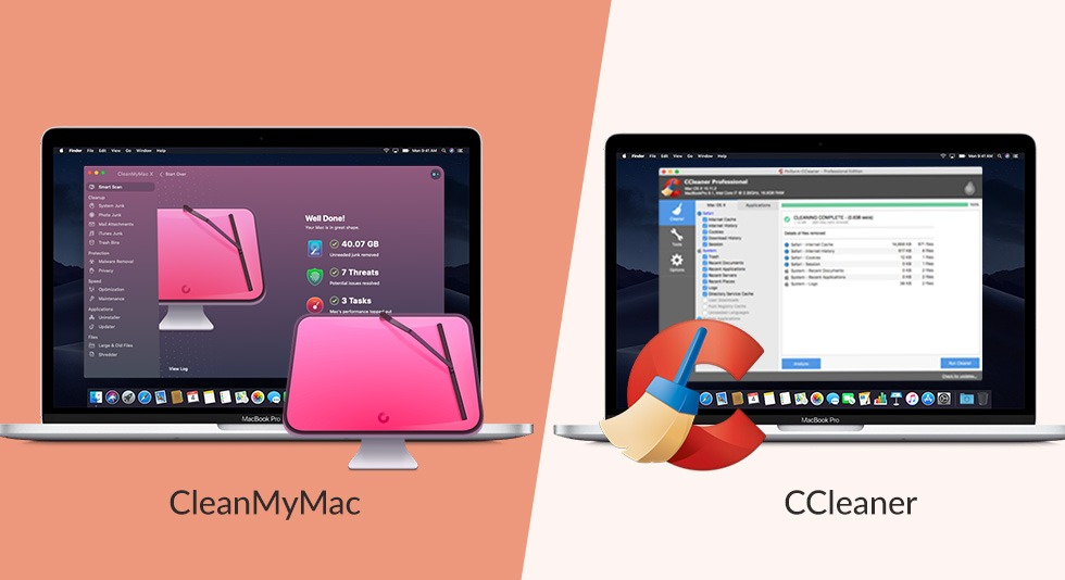 CleanMyMac VS. CCleaner