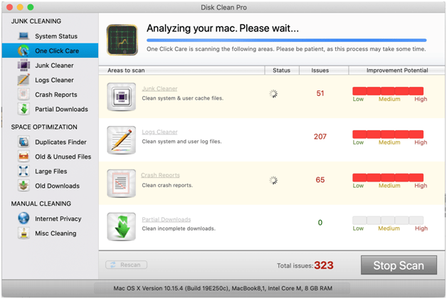disk clean pro review