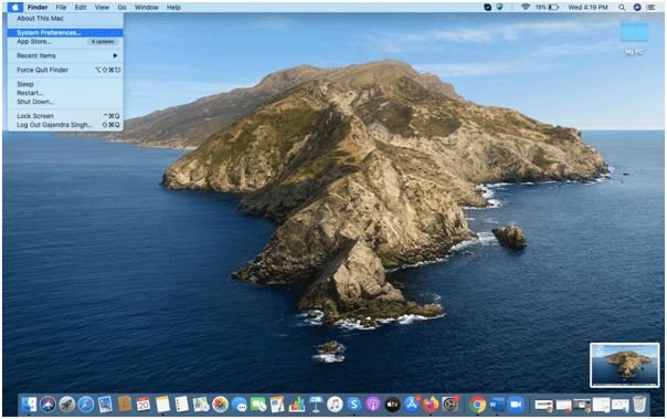 Delete iCloud Account From Mac