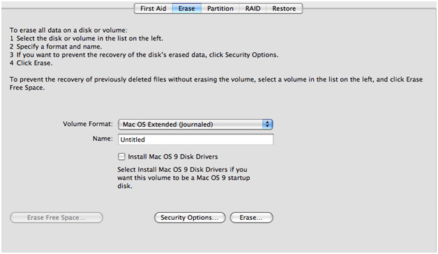 How to format a hard drive on Mac