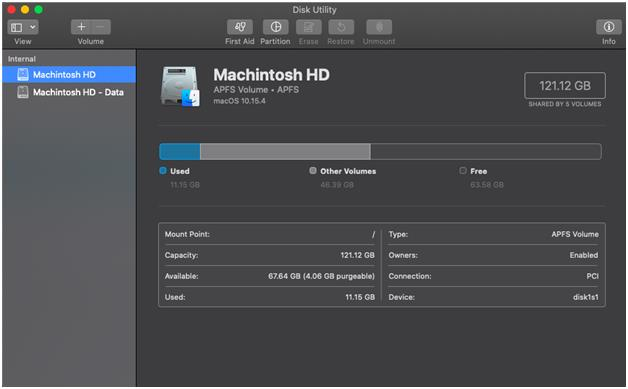 disk utility for mac