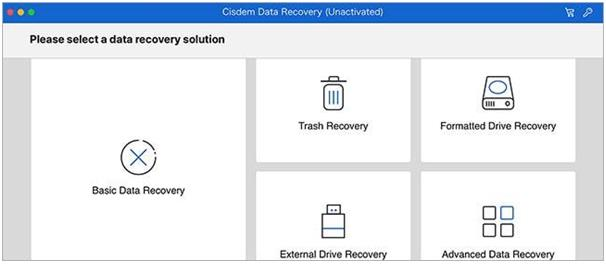 Cisdem DataRecovery for Mac