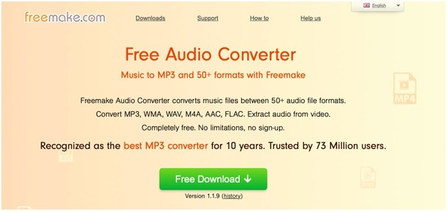 Freemake Audio Converter (Online)